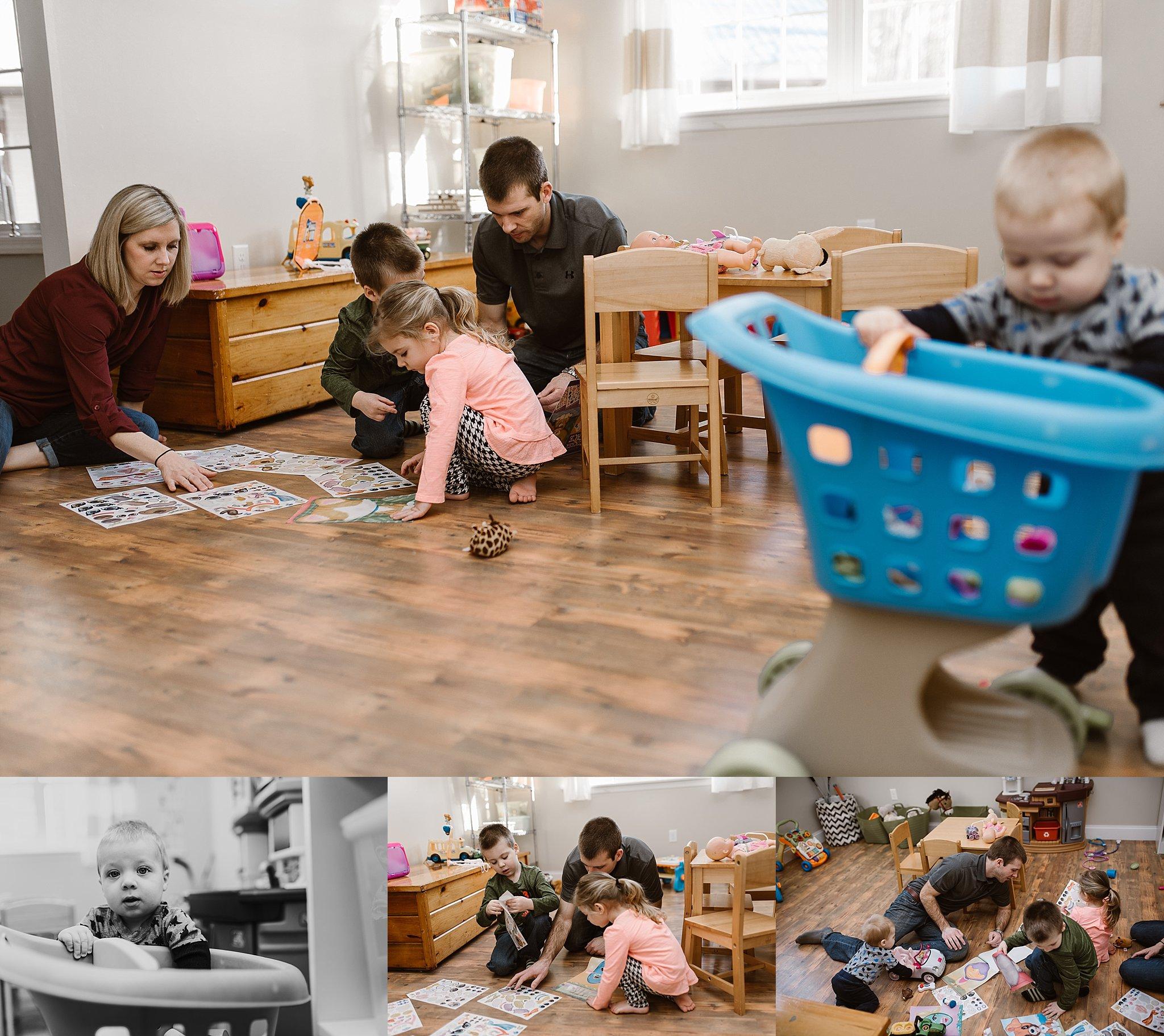 Scanlan family, Howard, PA, lifestyle family session
