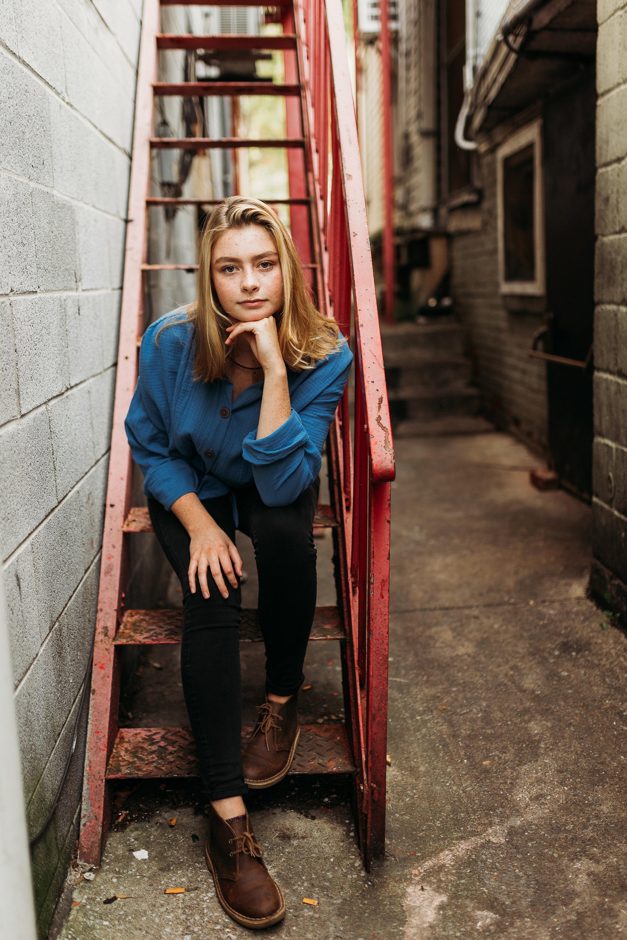 Jennifer Illig photography seniors
