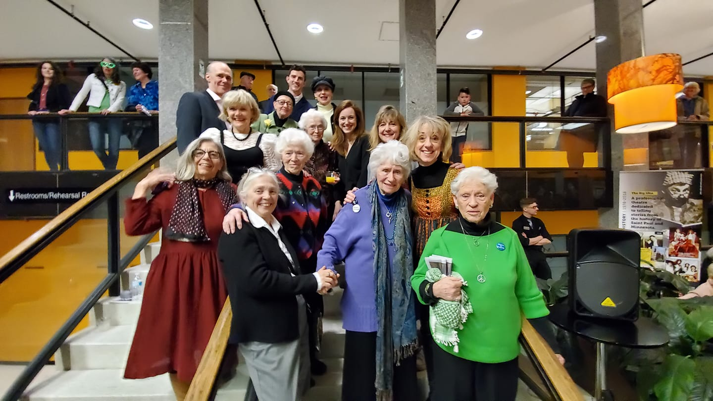 """Stars and Originals from """"Sisters of Peace"""" at History Theatre"""