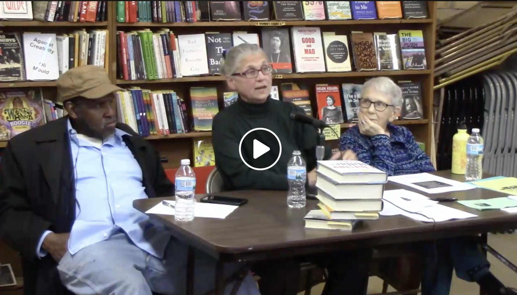 Mel Reeves, Coleen Rowley and Sue Ann Martinsen at Mayday Books
