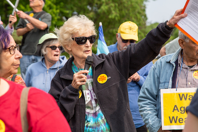 Marie Braun Walk Against Weapons 6/1/9