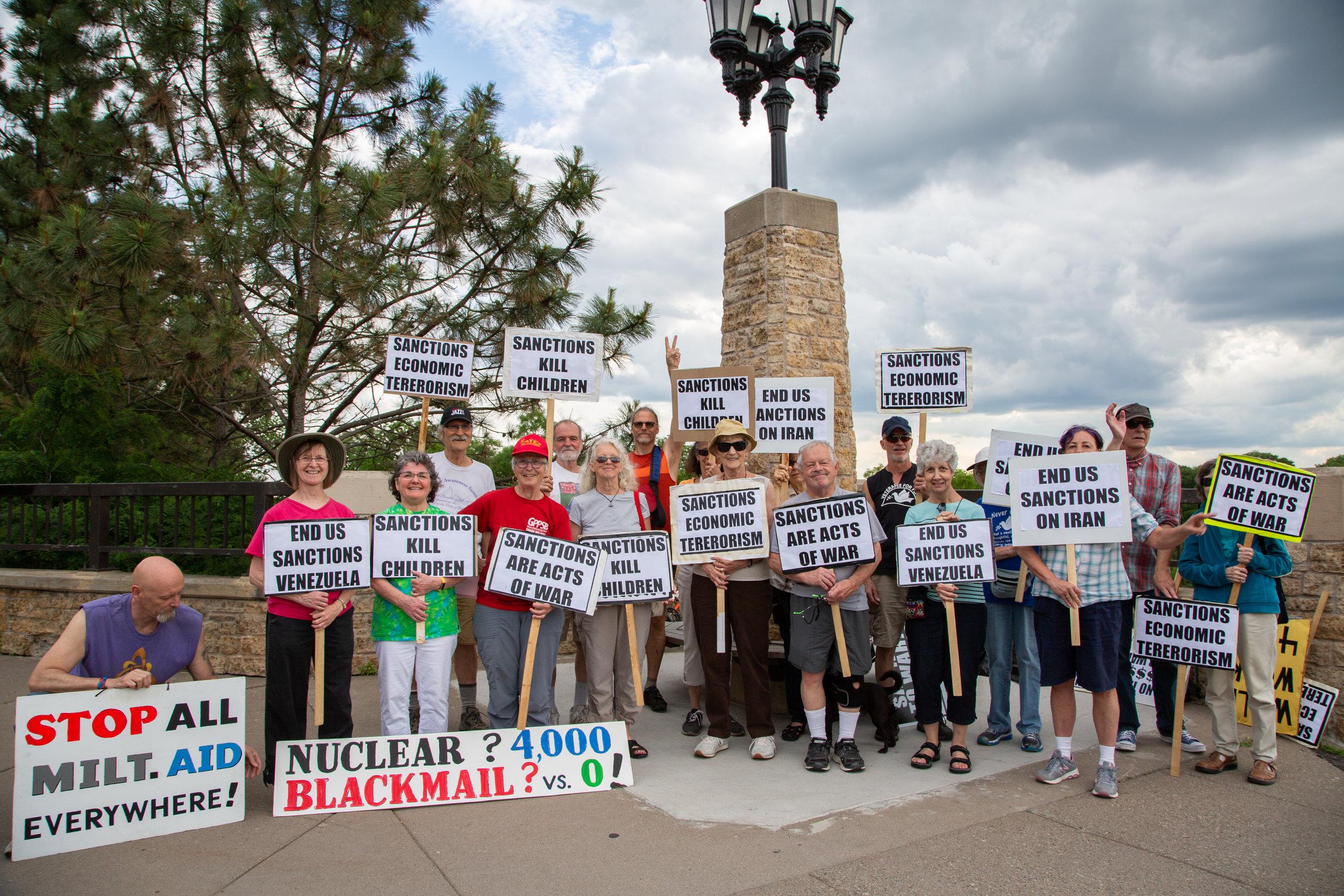Bridge Vigil Wednesday, June 19, 2019