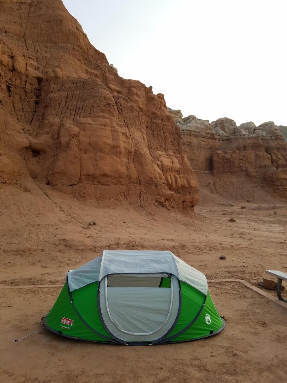 Goblin Valley Campsite