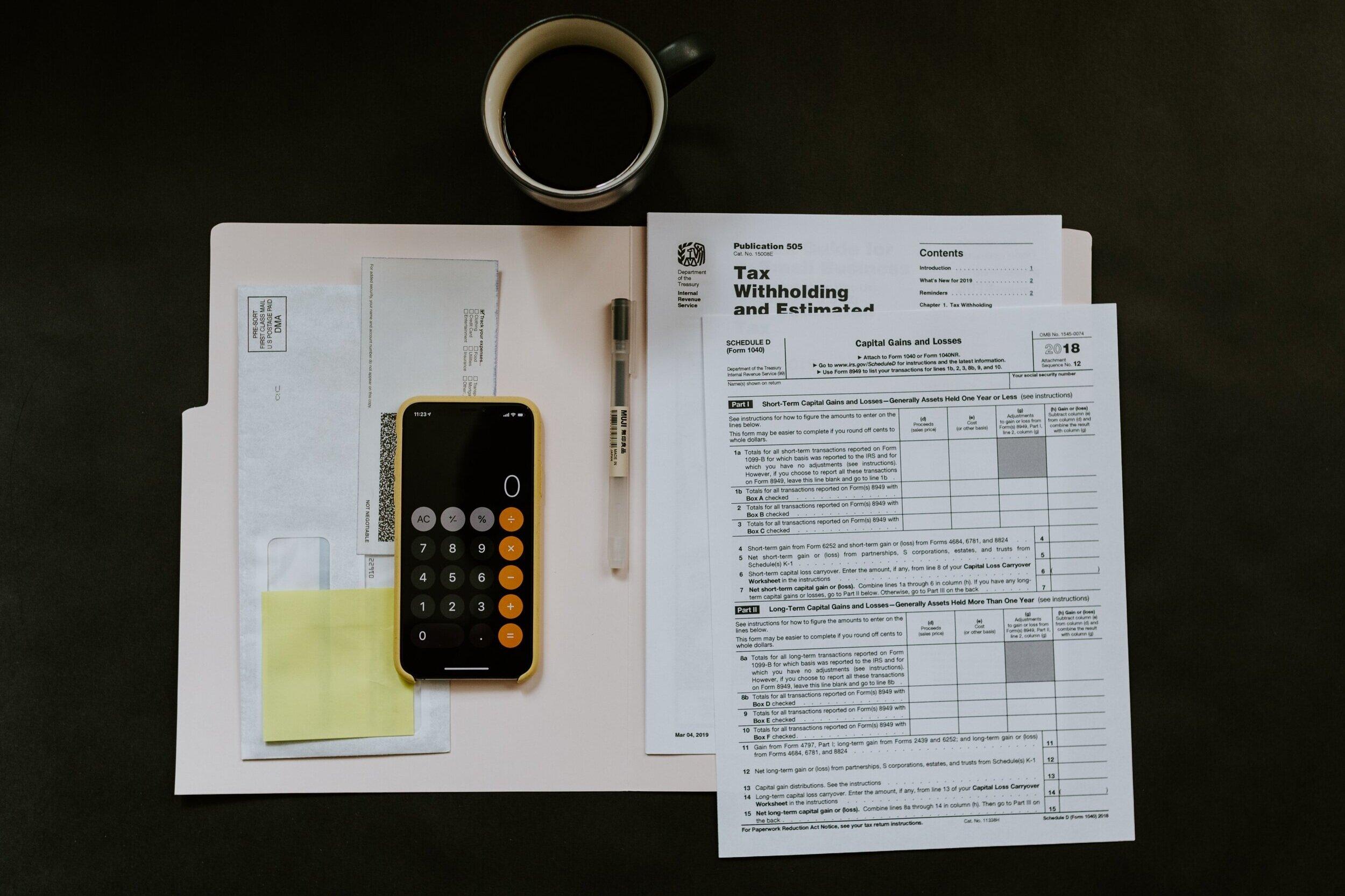 Taxes -