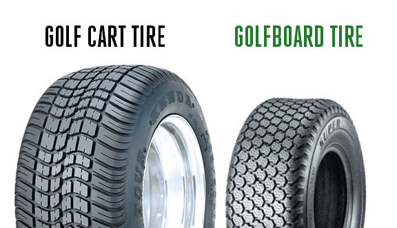 GolfBoard's smaller footprint allows two GolfBoards to deliver  30% less impact  on turf than one golf cart.