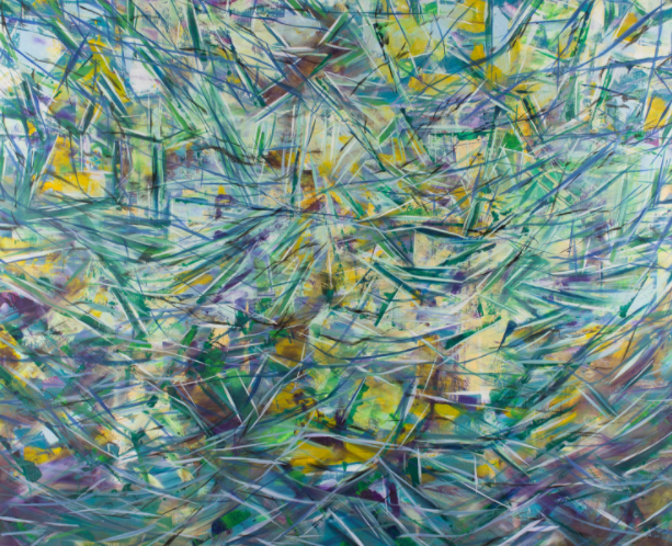 Vida Ryan ,  Unconscious Abstract,  2017.