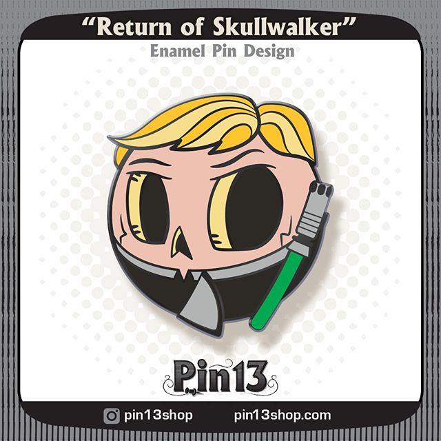 Ha ha, this one is weird! I dont hate him, but it is weird 😜 #lukeskywalker #returnofthejedi #starwarspins #starwars . . . . . #Skullball #MrSkullball #pin13 #skullart #skull #skullpin #pin #pins #pingame #enamelpin #pinstagram #lapelpin #lapelpins #enamelpins #pinlife #pinsofig #pincommunity #pinhead #pinnation #pindesign #sketch #wip