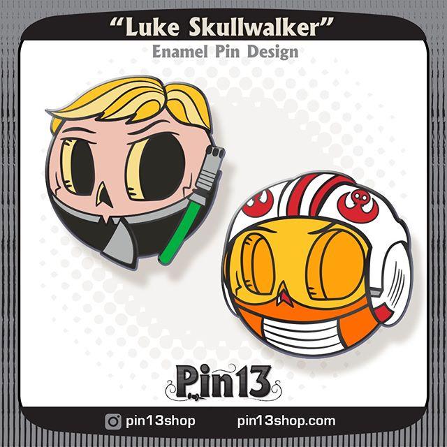 Alright, which Luke would make a better pin? #lukeskywalker #returnofthejedi #starwarspins #starwars . . . . . #Skullball #MrSkullball #pin13 #skullart #skull #skullpin #pin #pins #pingame #enamelpin #pinstagram #lapelpin #lapelpins #enamelpins #pinlife #pinsofig #pincommunity #pinhead #pinnation #pindesign #sketch #wip
