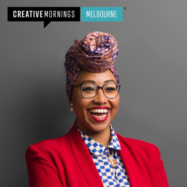 Yassmin Abdel-Magied. Photo by  Mark Lobo Photography for  Creative Mornings Melbourne .