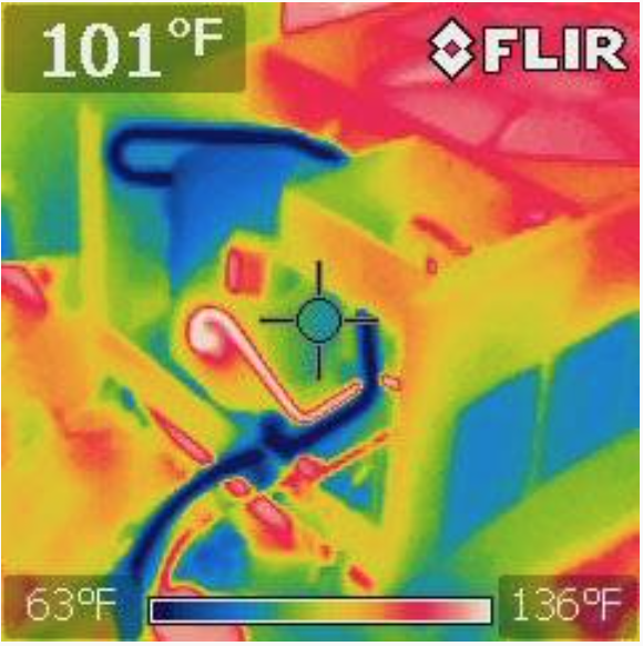 Thermal Imaging Used During Home Inspection Services | Houston Home Inspection Services | Home Inspector | Commercial Property Inspector | Commercial Building Inspection | Free Thermal Imaging | Real Estate Inspector | ATEX Inspects LLC