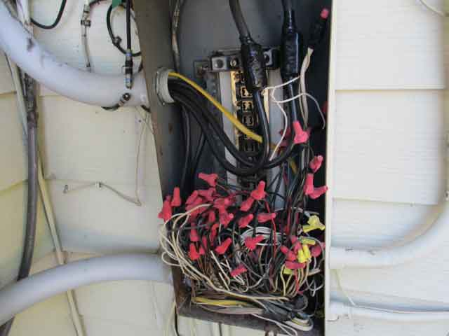 Wire Splicings Home Inspection Houston