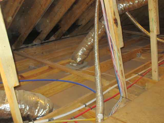 Missing Insulation Home Inspection Houston
