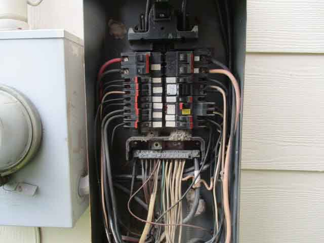 electrical panel Houston Home inspection