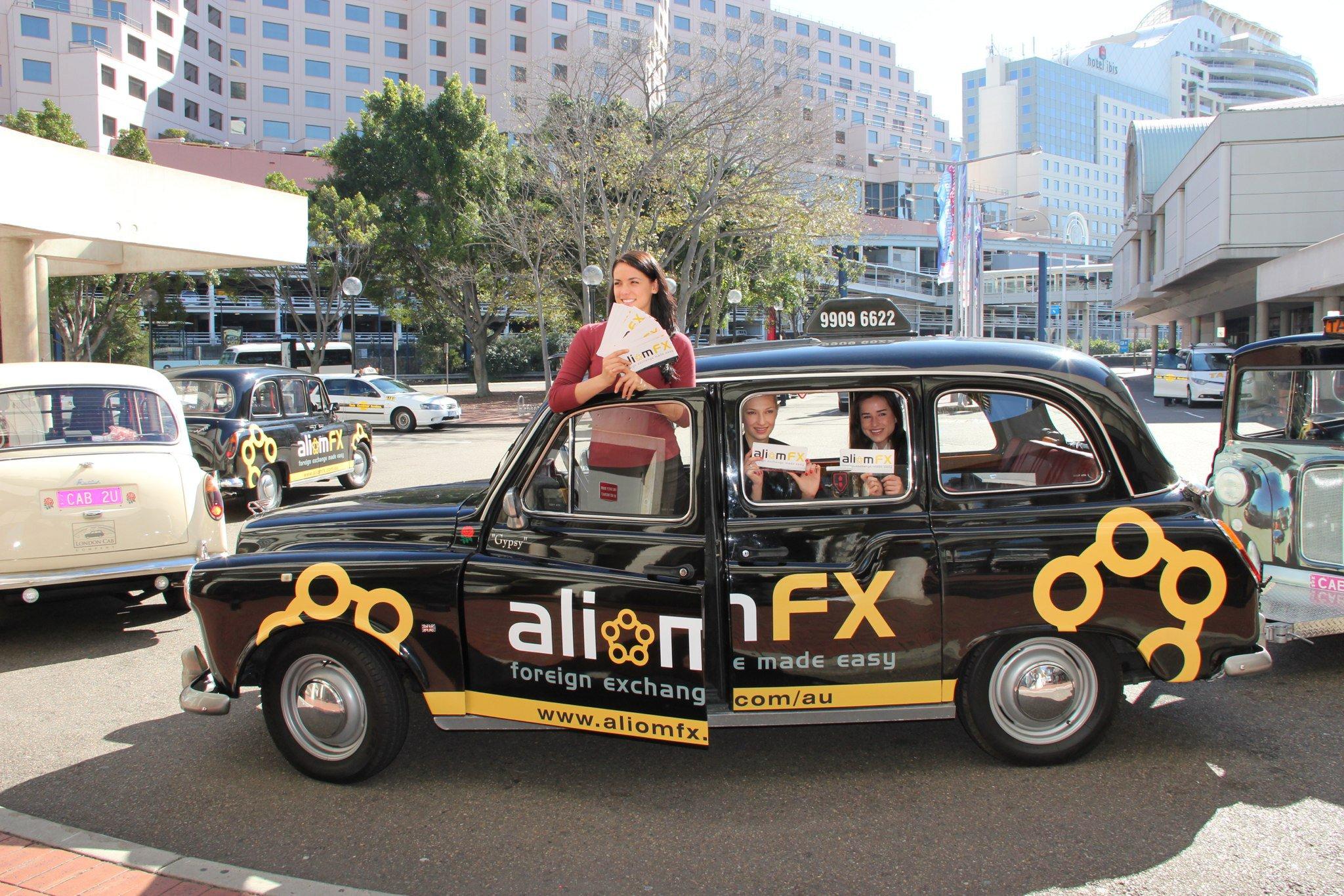 ALIOM FX - 'Fpreign Exchange Made Easy' Branding Cam[paign