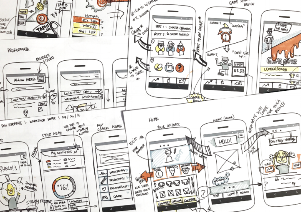Vodafone Digital Happiness App Sketches.png