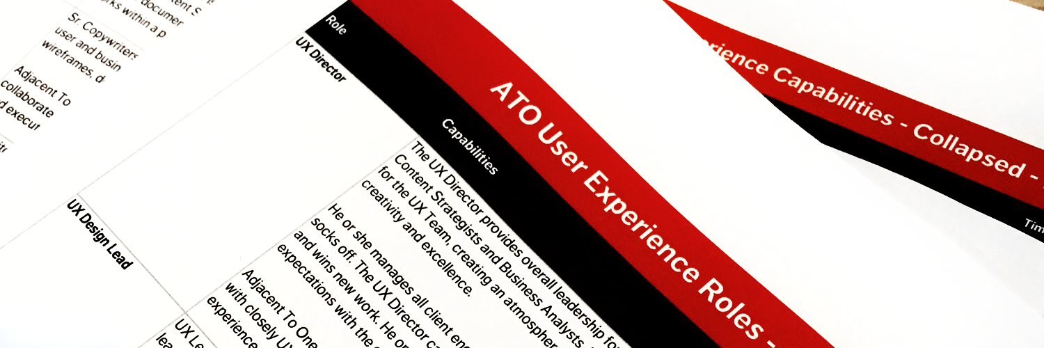 ATO Consulting UX Director