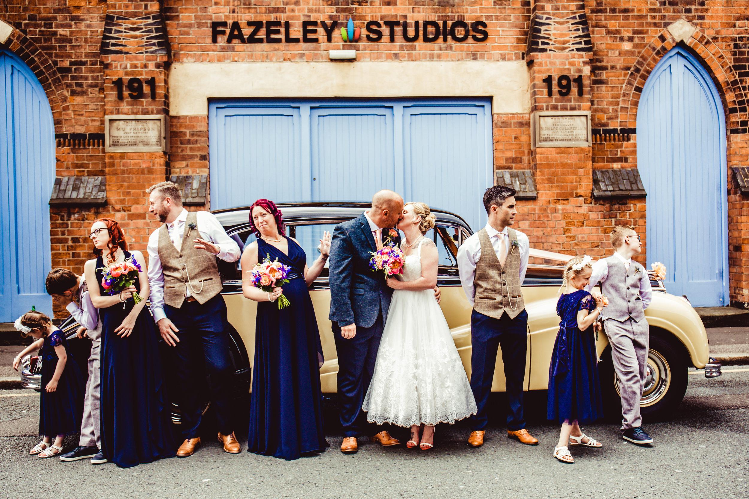 Fazeley Studios Wedding