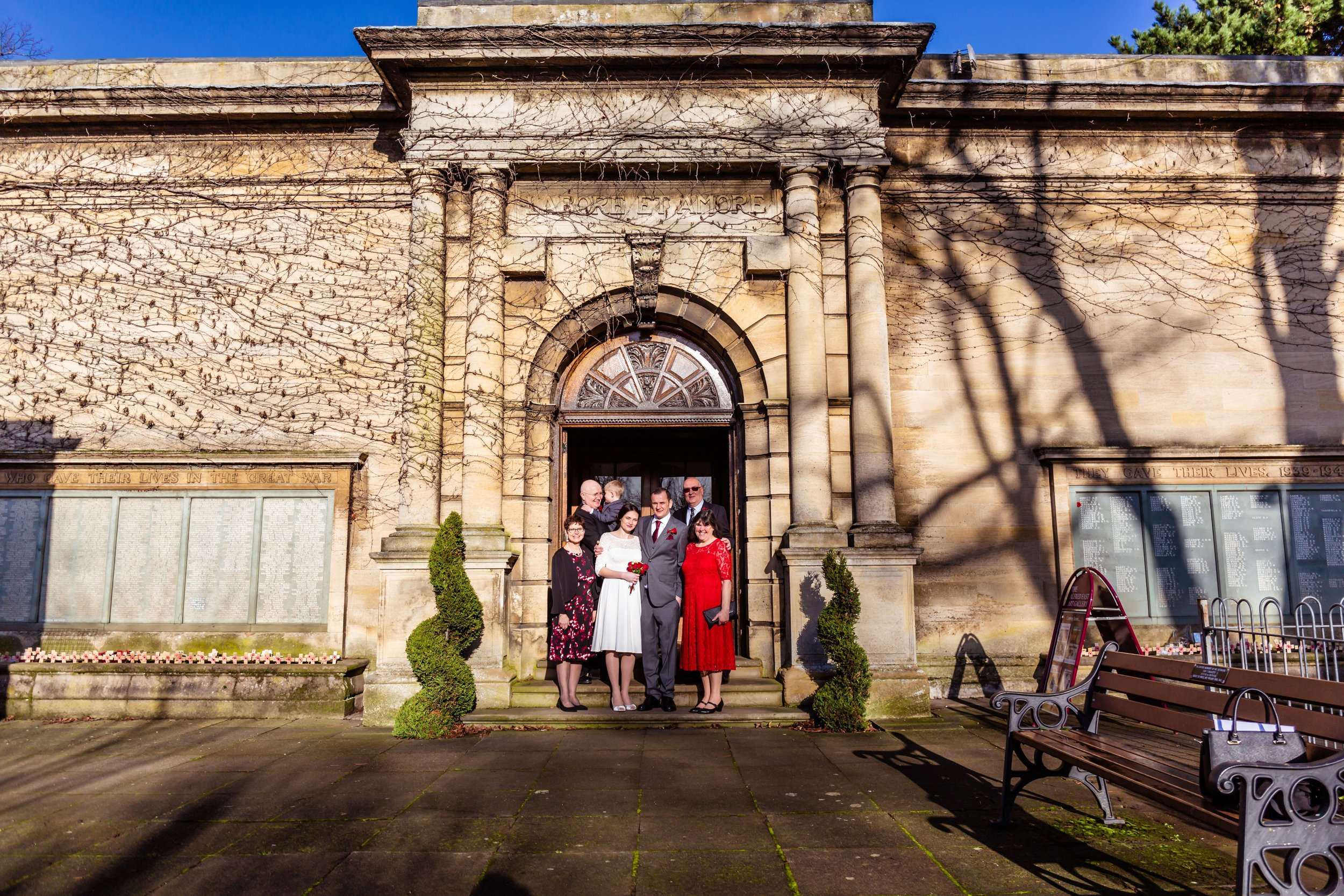 family, alfred east art gallery, kettering, fotovida wedding photography
