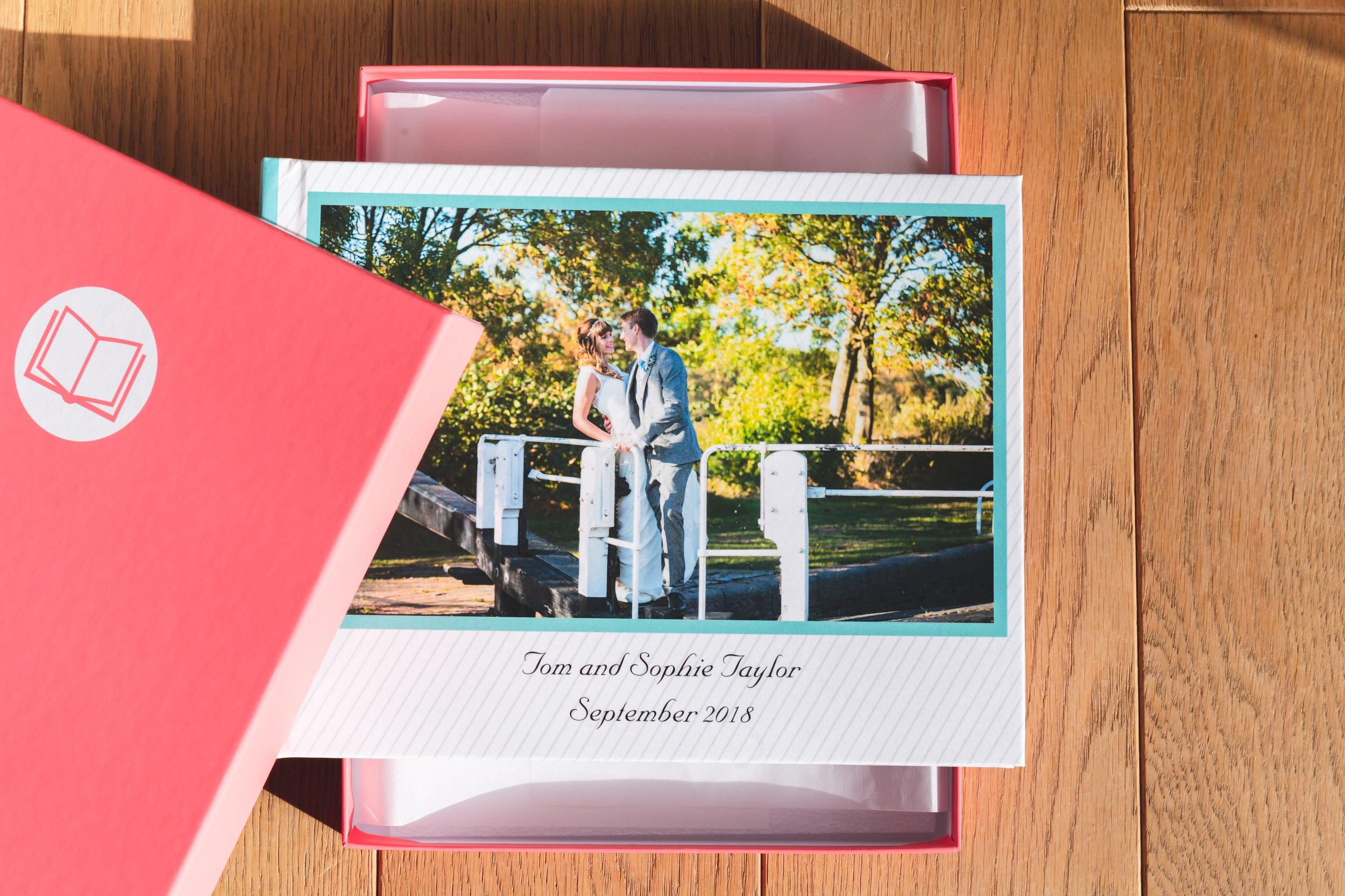 Wedding Photography Album Cover and Box