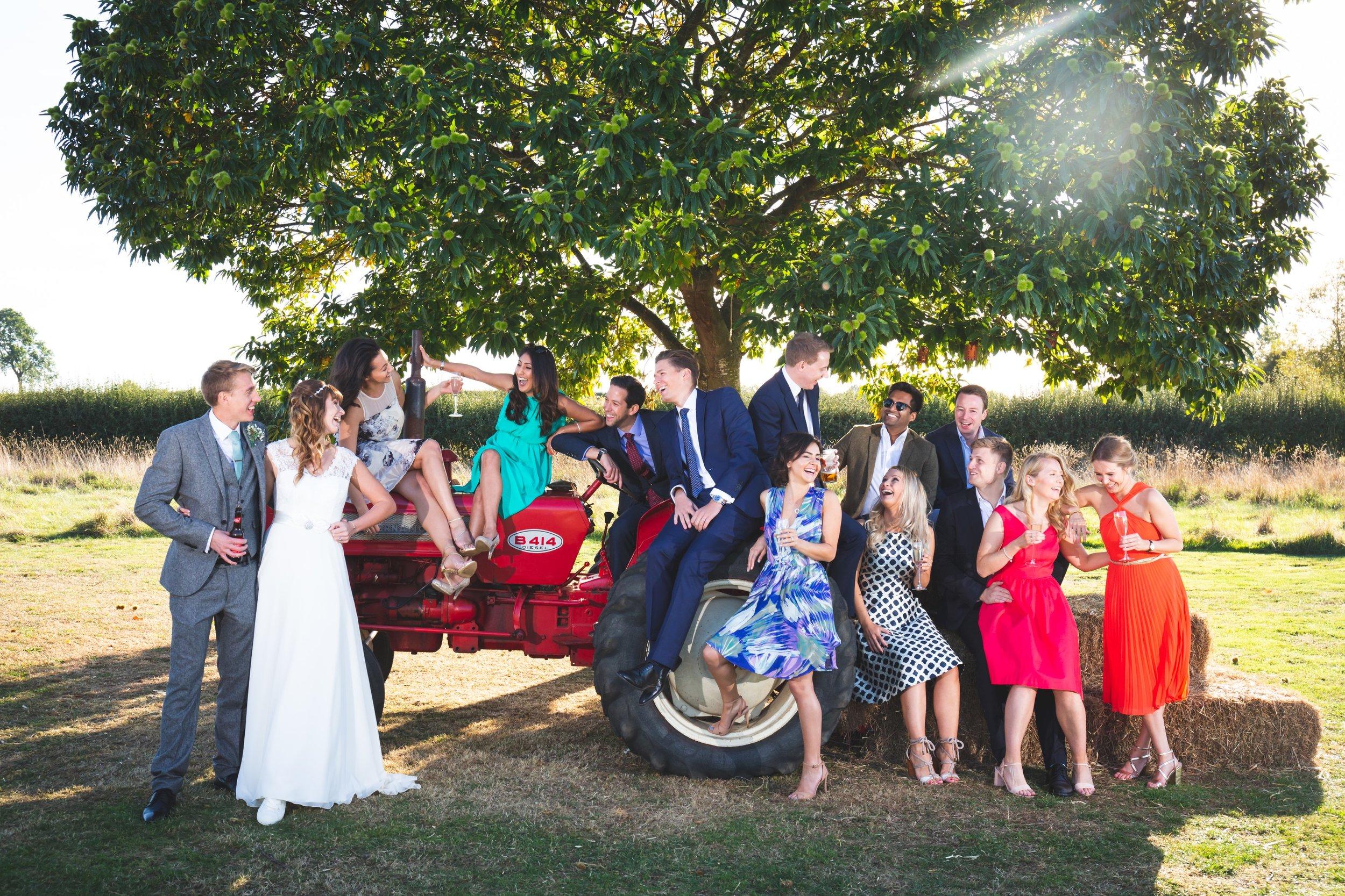 Bridge House Barn, Teepee Wedding
