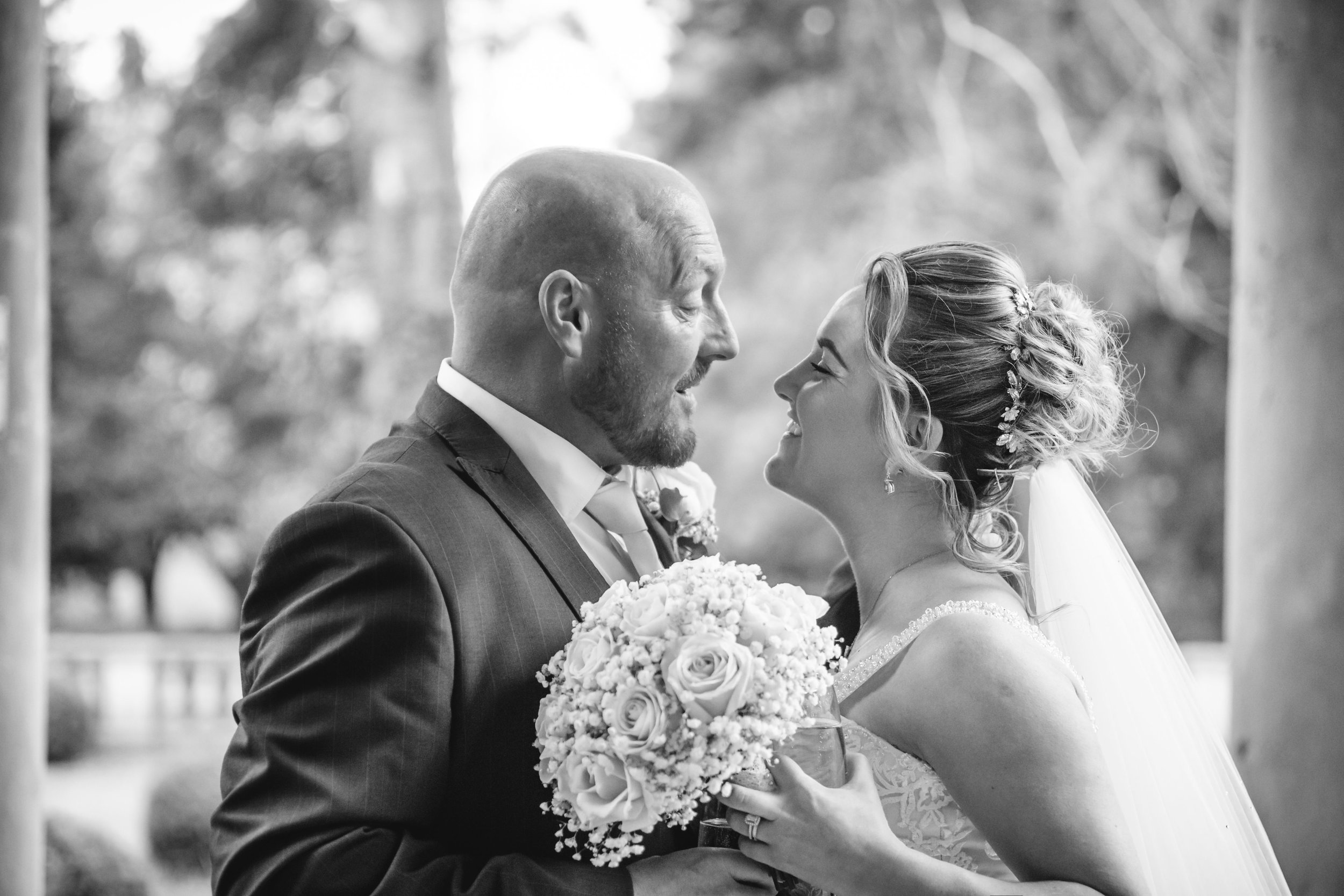To view more photographs from this wedding at Kilworth House,  click here .