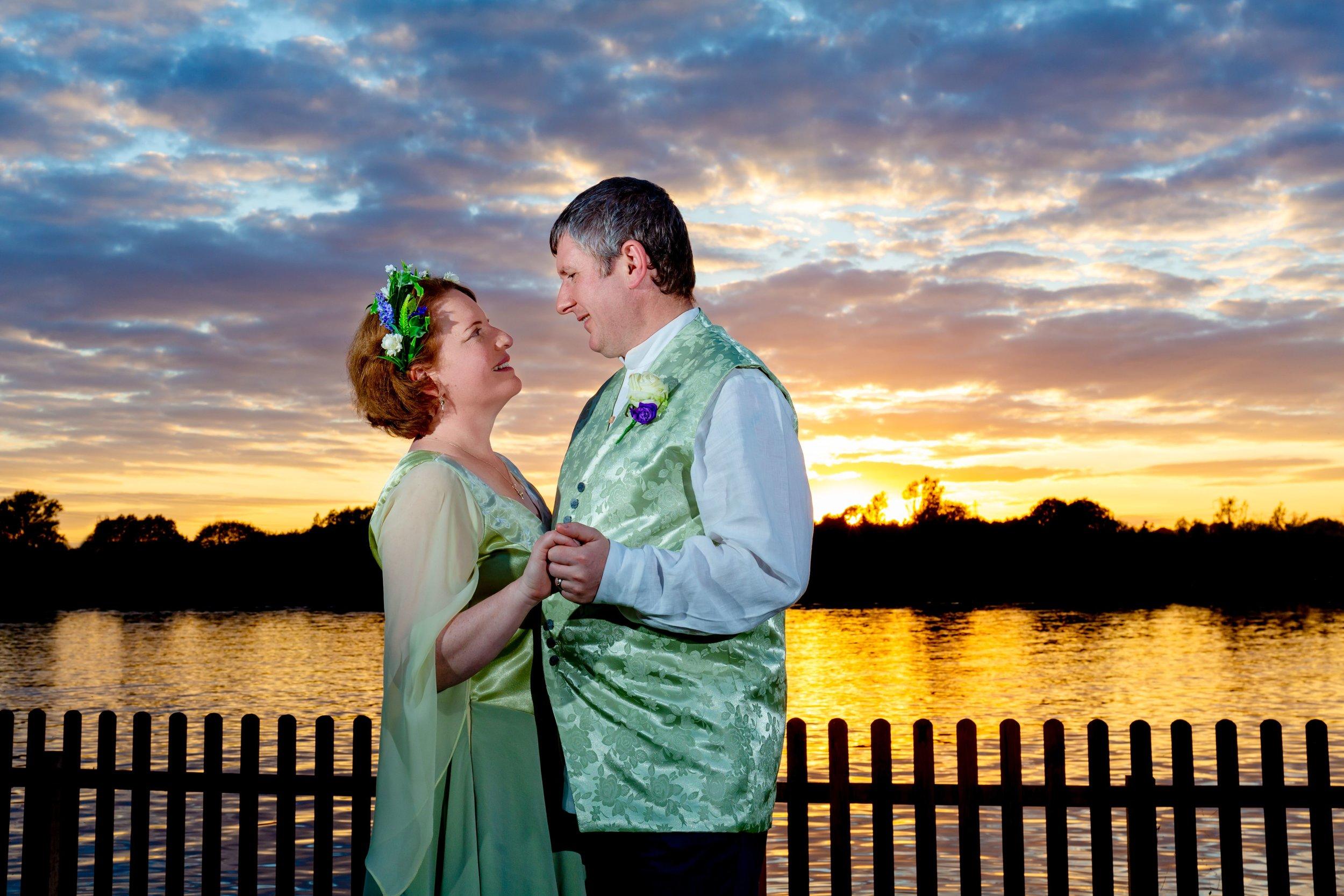 Grendon Lakes Sunset