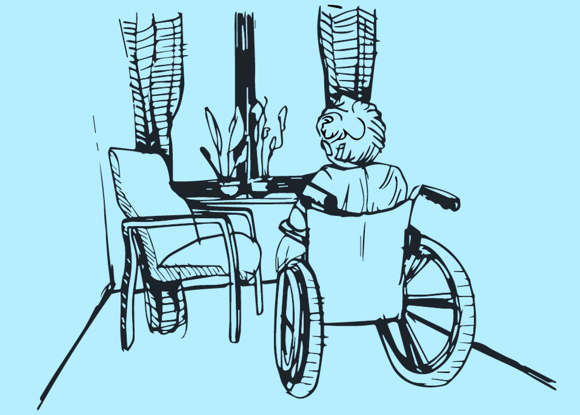 "Ida's story - ""Jottings from a wheel chair."""