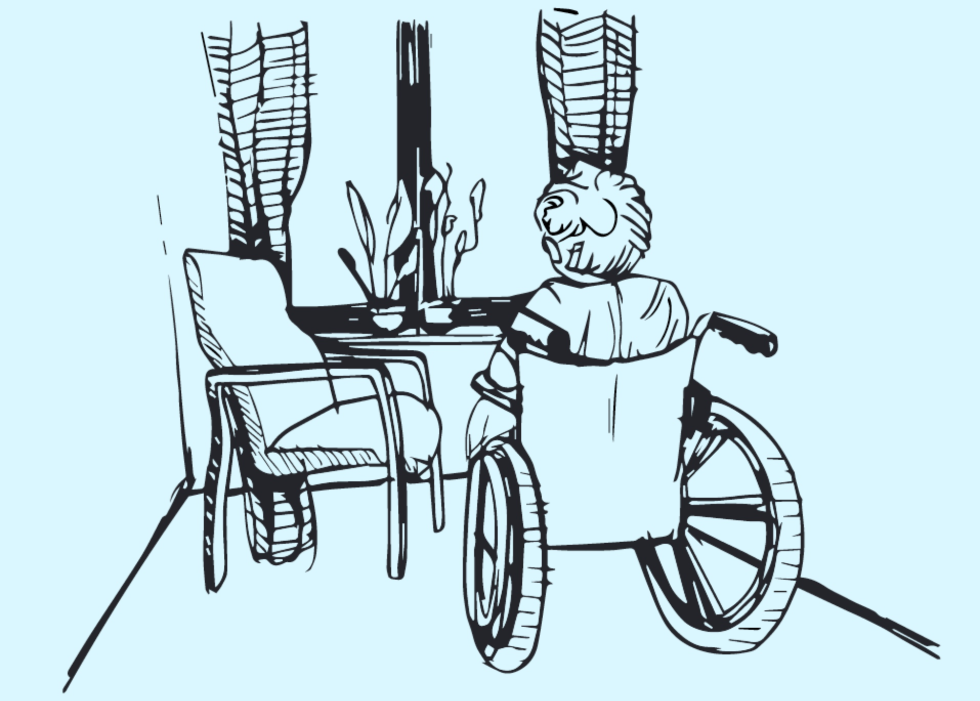 ida's story - Jottings from a wheel chair