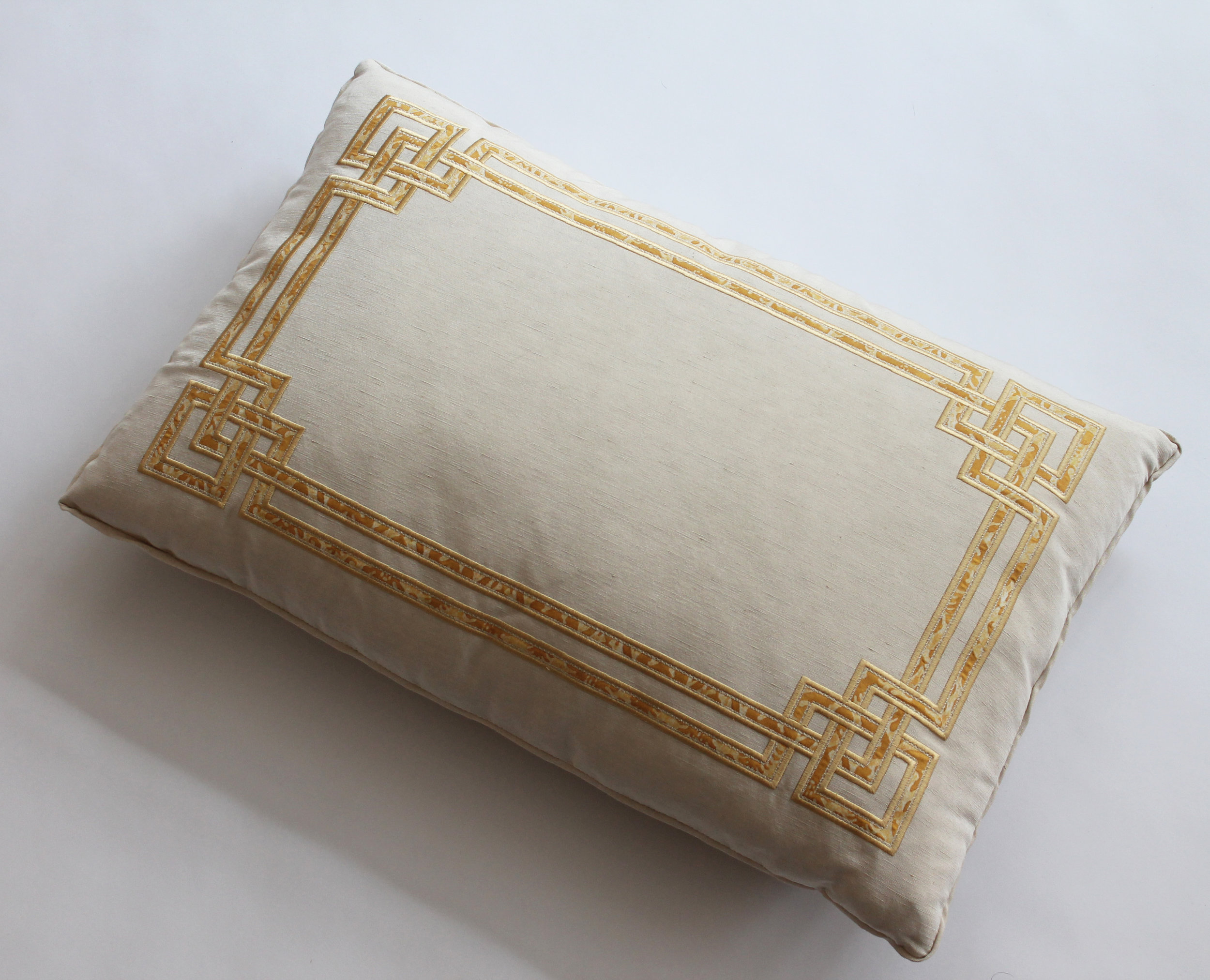 Fortuny Applique' on ivory silk Retail Price $950.00