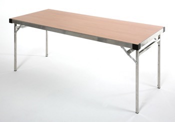 6ft Long Table Aluminium