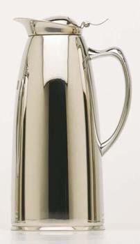 Chrome Coffee Flask