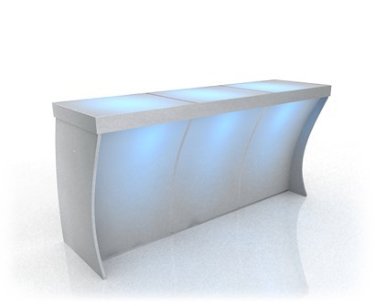 Seated Bar with Light