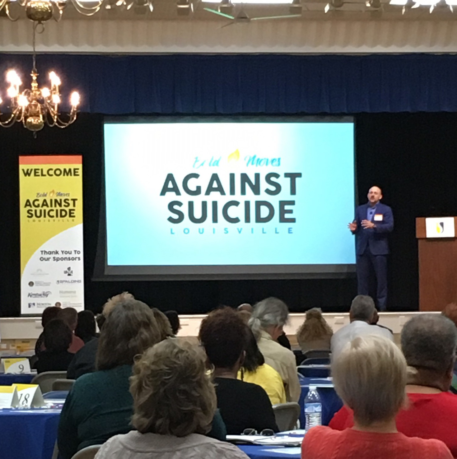 Photo from the 2016  Bold Moves Against Suicide  Summit in Louisville, KY.