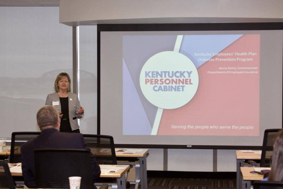 Jenny Goins, Commissioner, Department of Employee Insurance, State of KY.