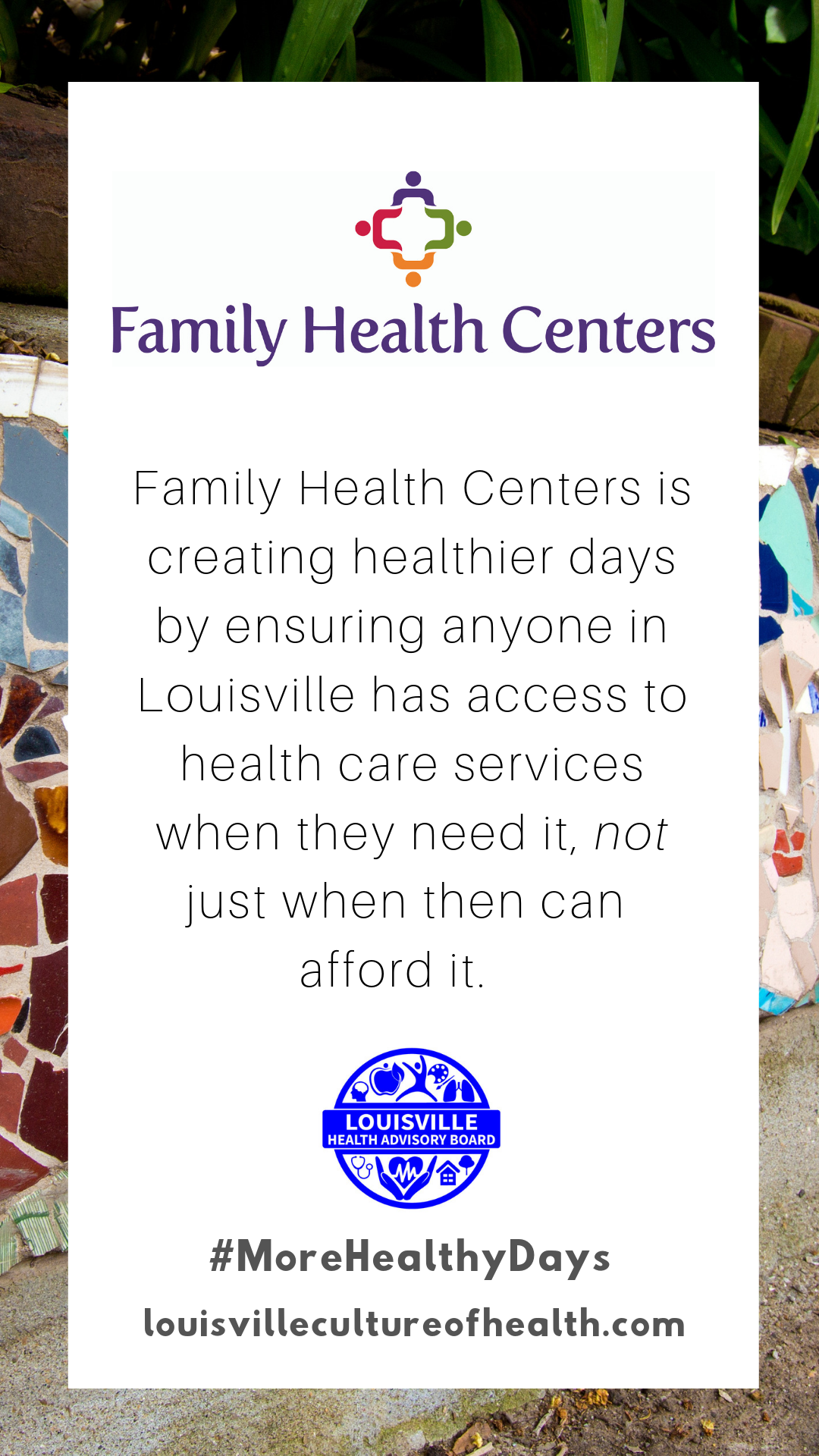 Family Health Centers is working towards creating healthier days by ensuring anyone can.png