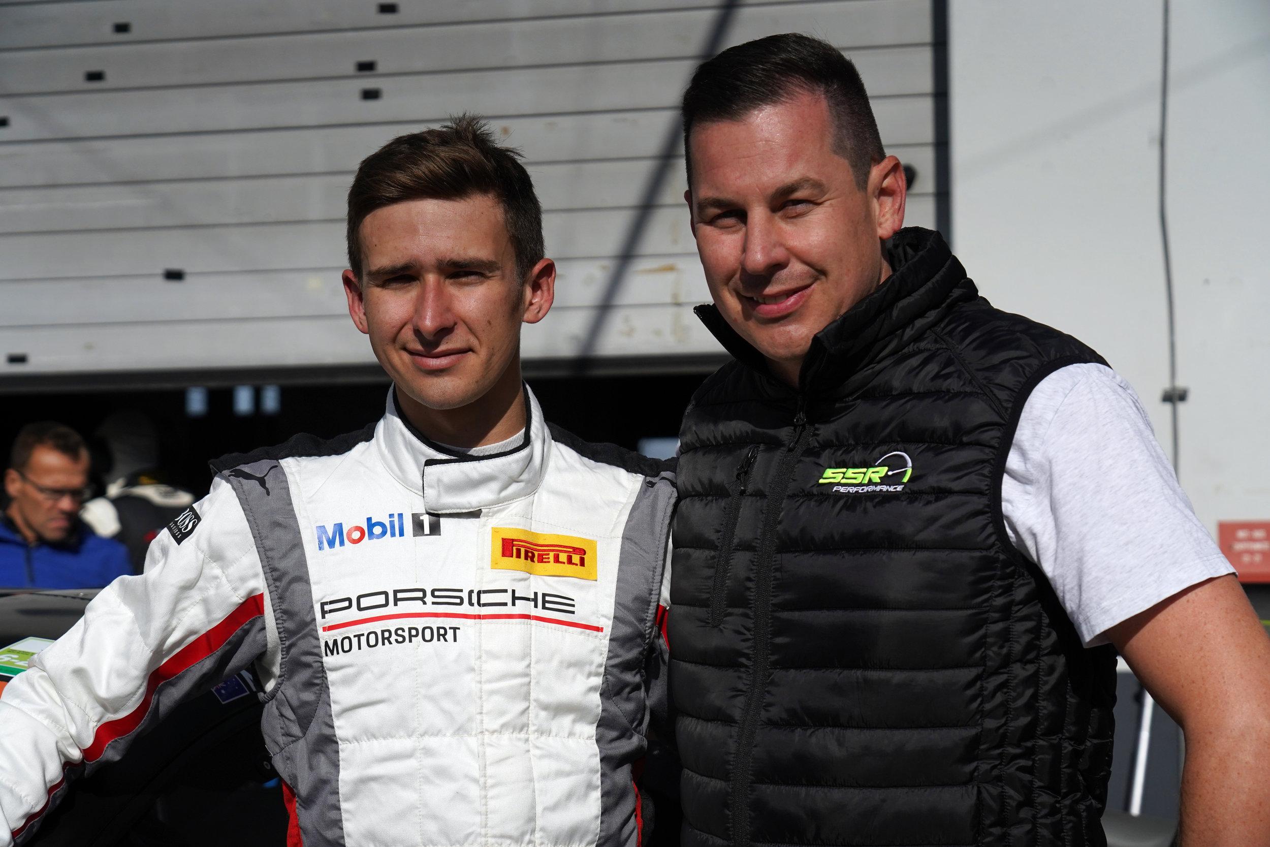 Matt Campbell (links) und Stefan Schlund (rechts)