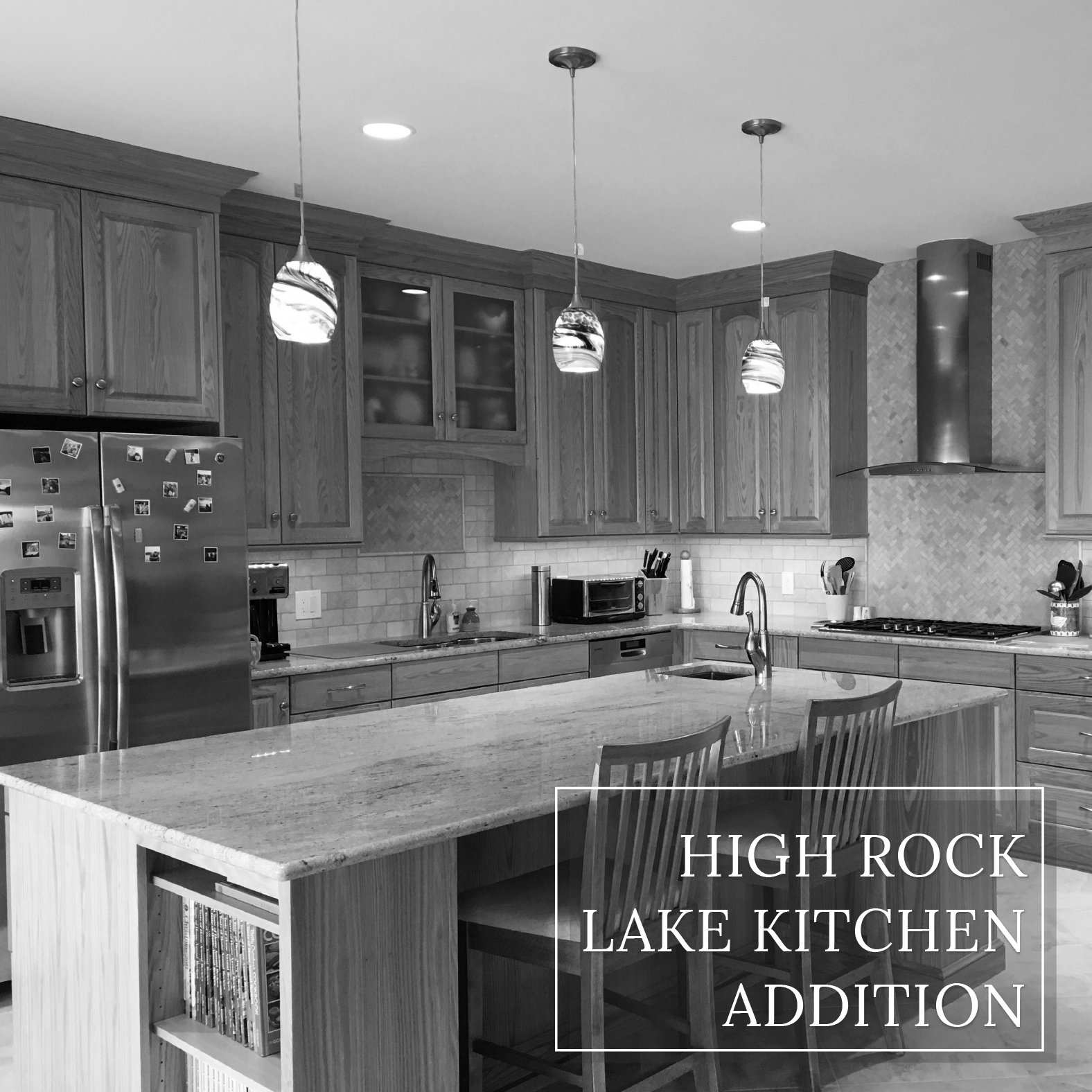 High Rock Lake Front Living  |  Dream Kitchen Builders