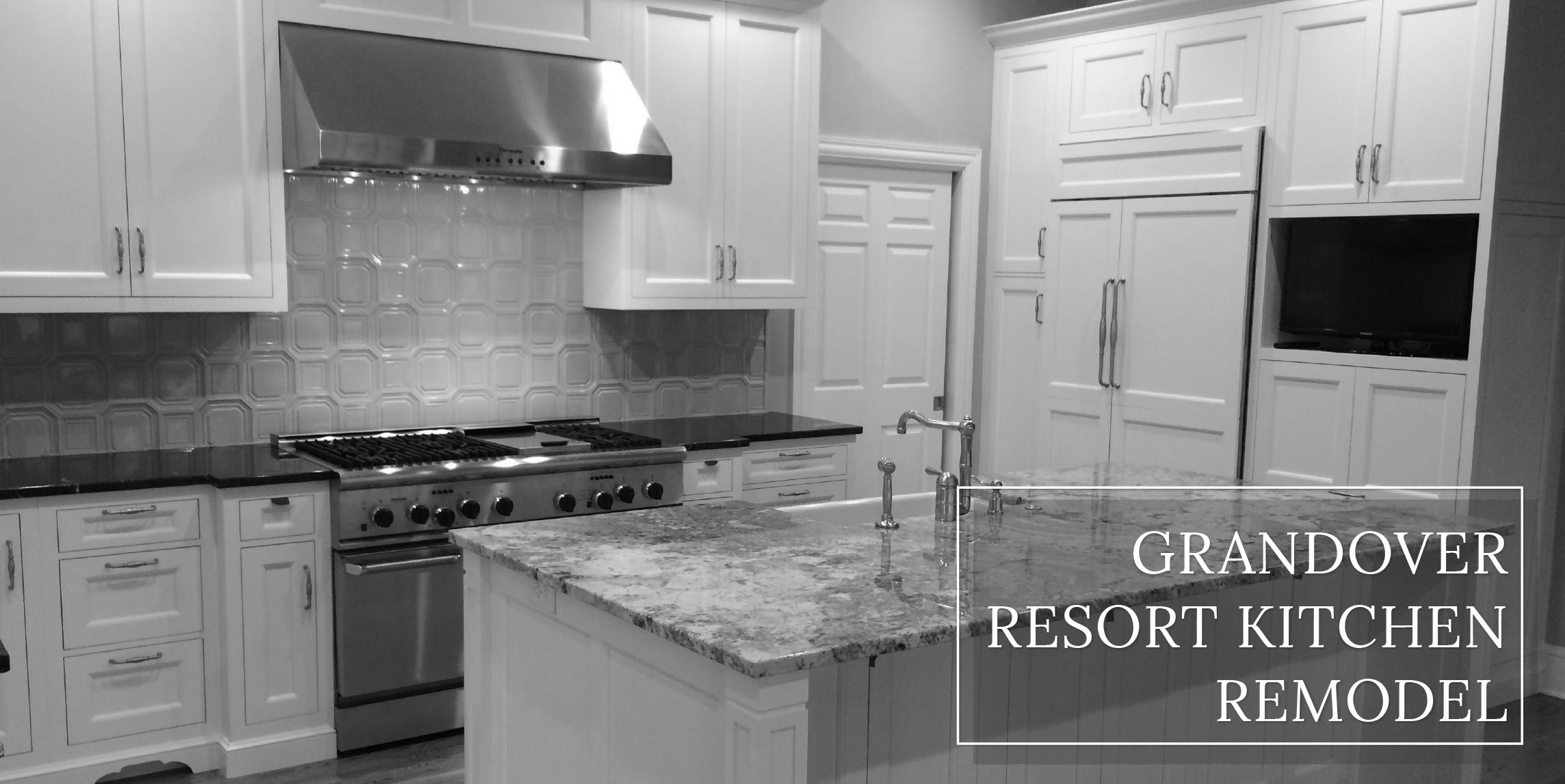 Grandover Kitchen Remodel  |  Dream Kitchen Builders