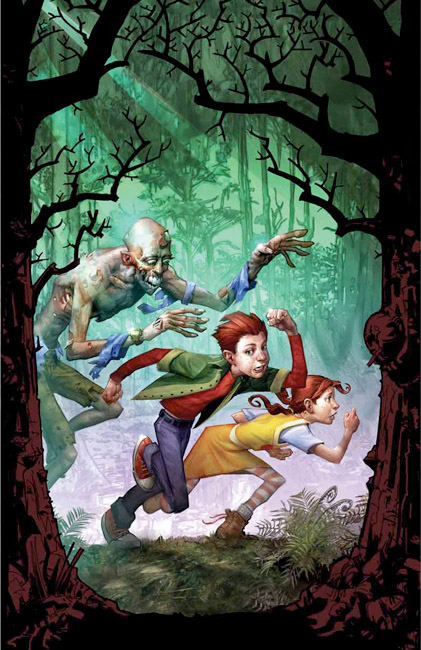 Secrets of Dripping Fang Book Two, Treachery and Betrayal at Jolly Days by Dan Greenburg