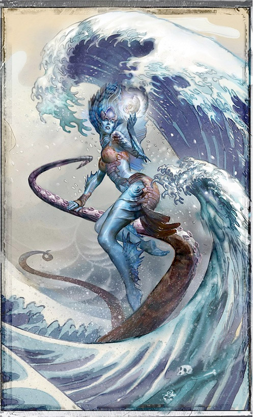 Kiora the Crashing Wave, Magic the Gathering