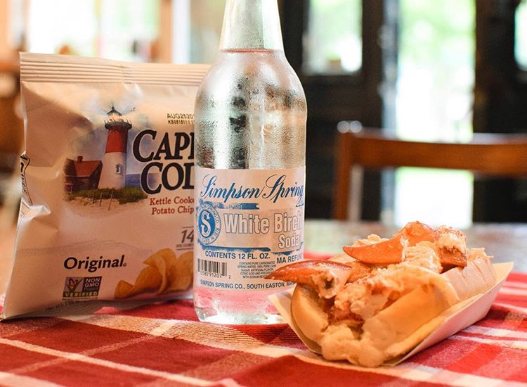 White Birch paired with Bramhall Country Store's Lobster Roll