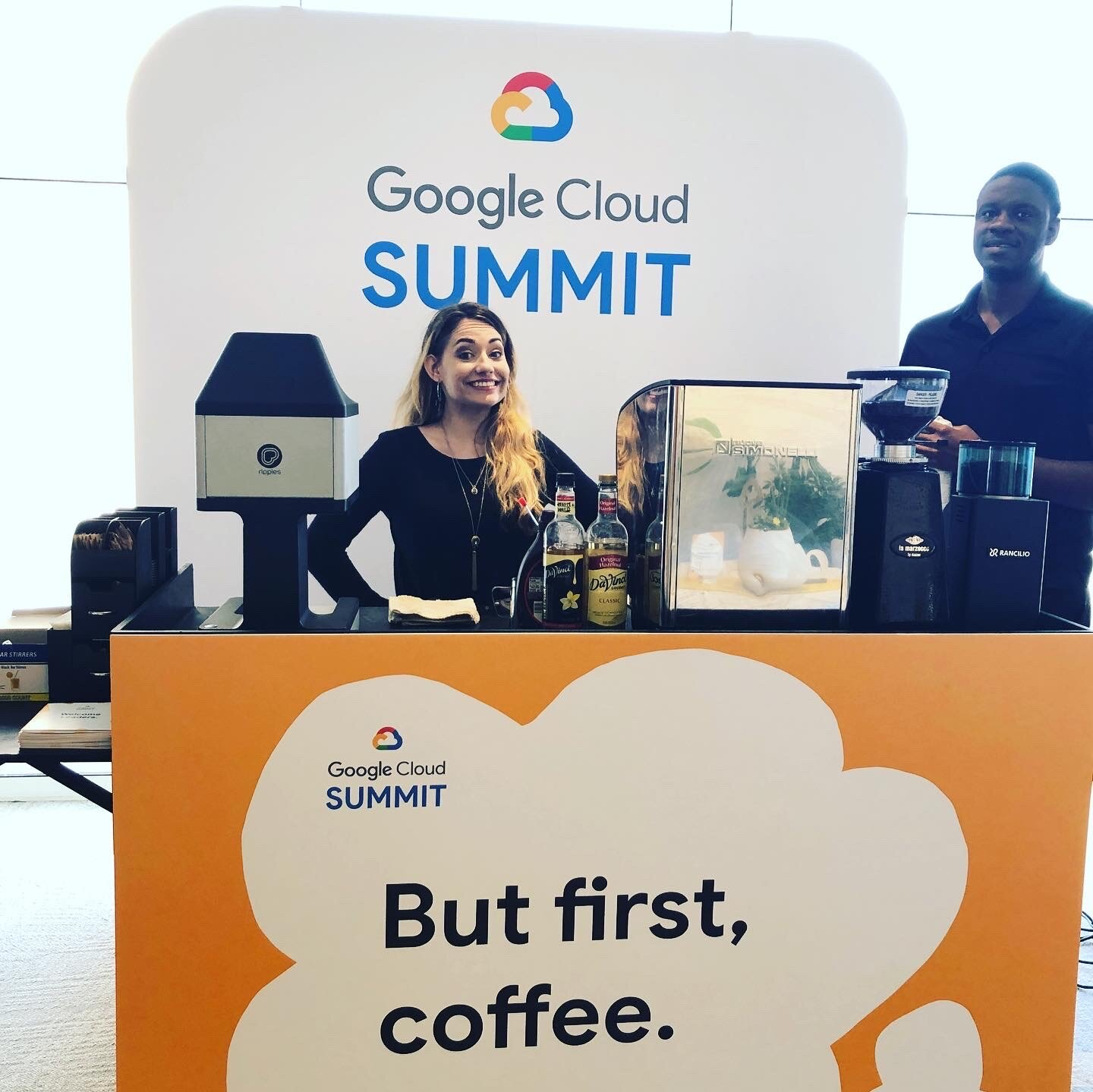 Branded Coffee Carts. Create Your Own Cafe as Your Employees and/or Clients Get Served By Our Talented and Friendly Baristas!