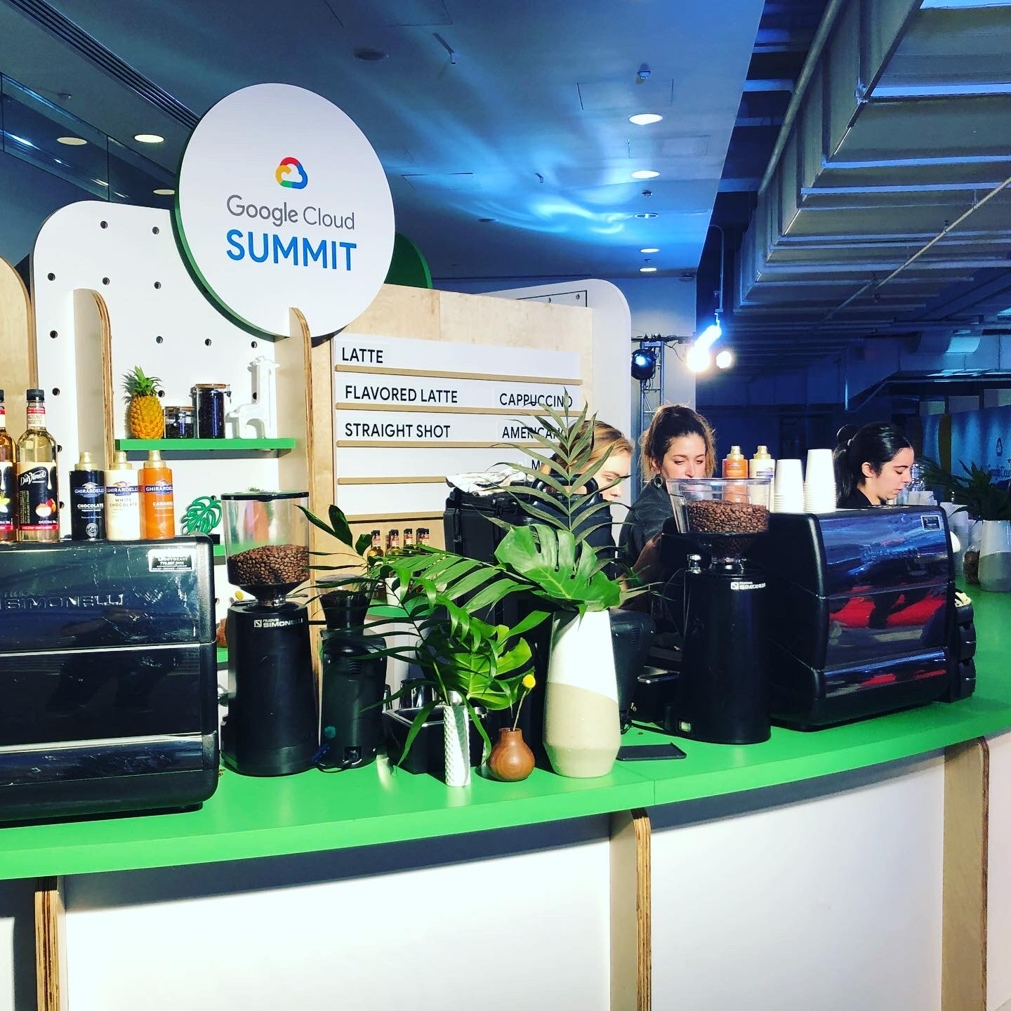 Fully Branded Build-Outs and Coffee Bars! The Perfect Solution To Impress Your Clients at Your Next Trade Show!