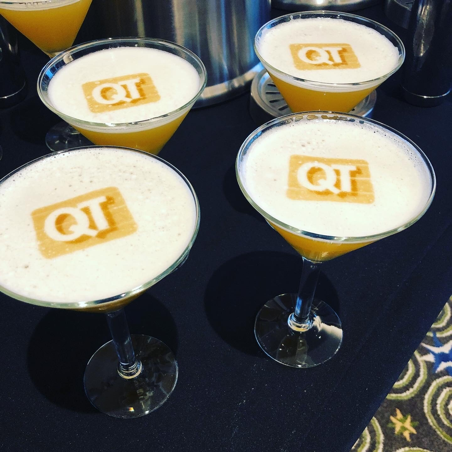 Our Branded Cocktail and Beer Foam is the Perfect Way To Add Some Fun and Enhance Your Evening!