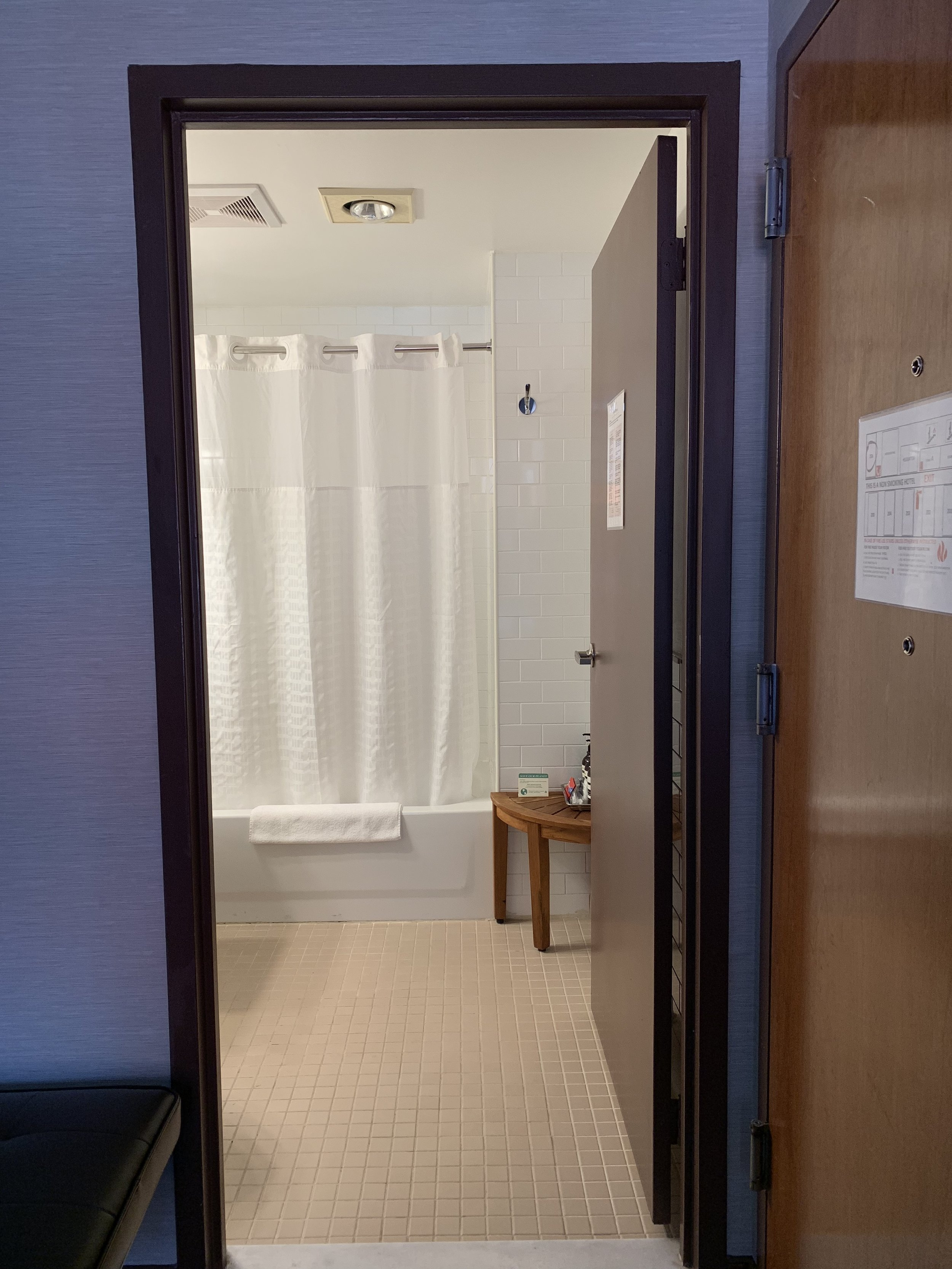 Our Superior bathrooms are spacious and clean