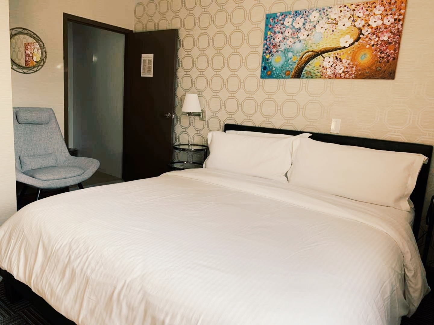 Our King Room, very spacious and comfy