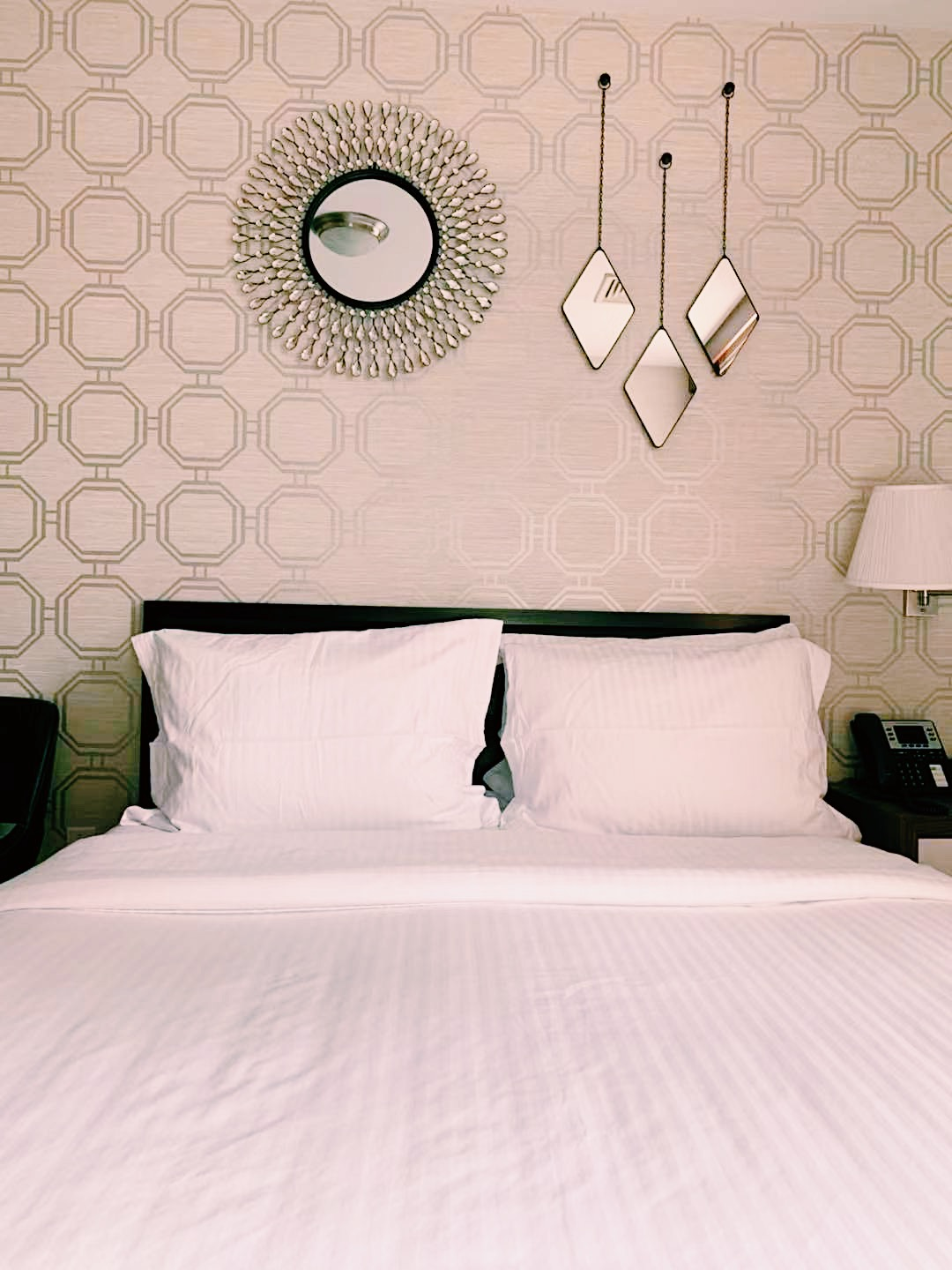 Our Standard Queen Room, both style and comfort!
