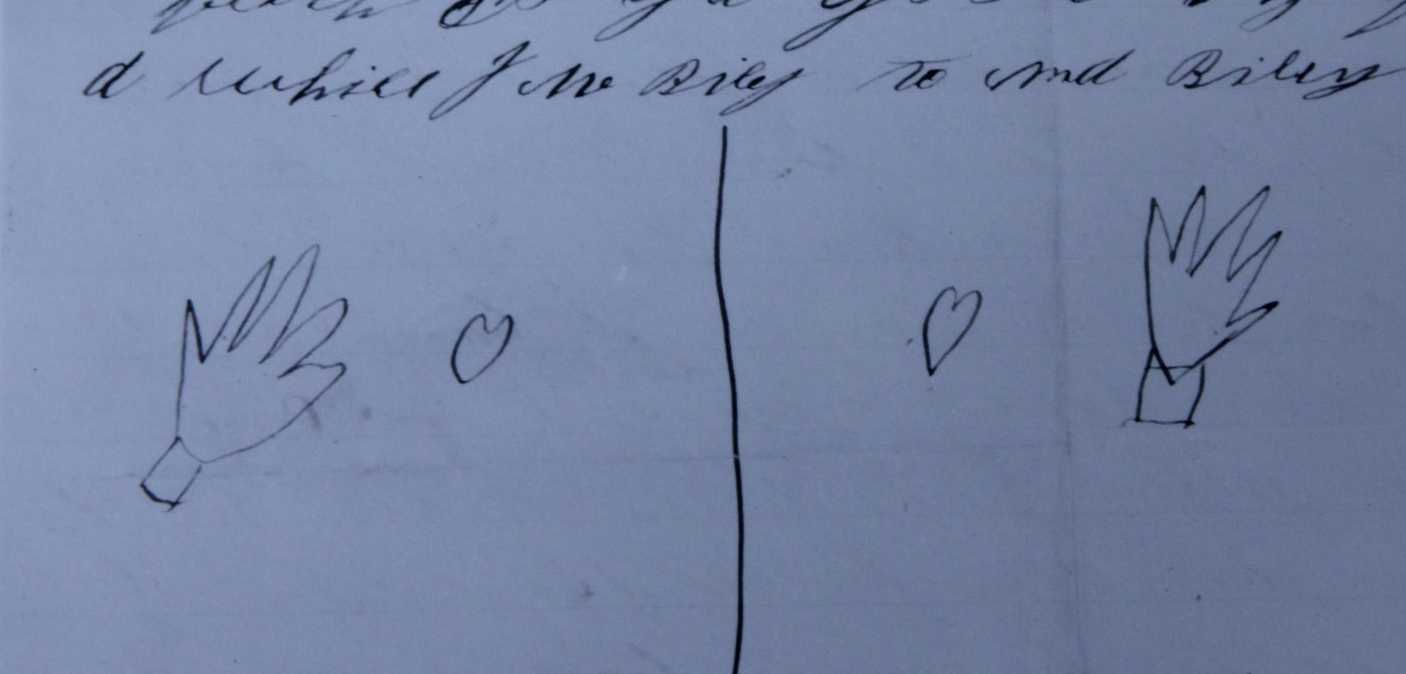 Handwritten letter from James M. Riley, 1872