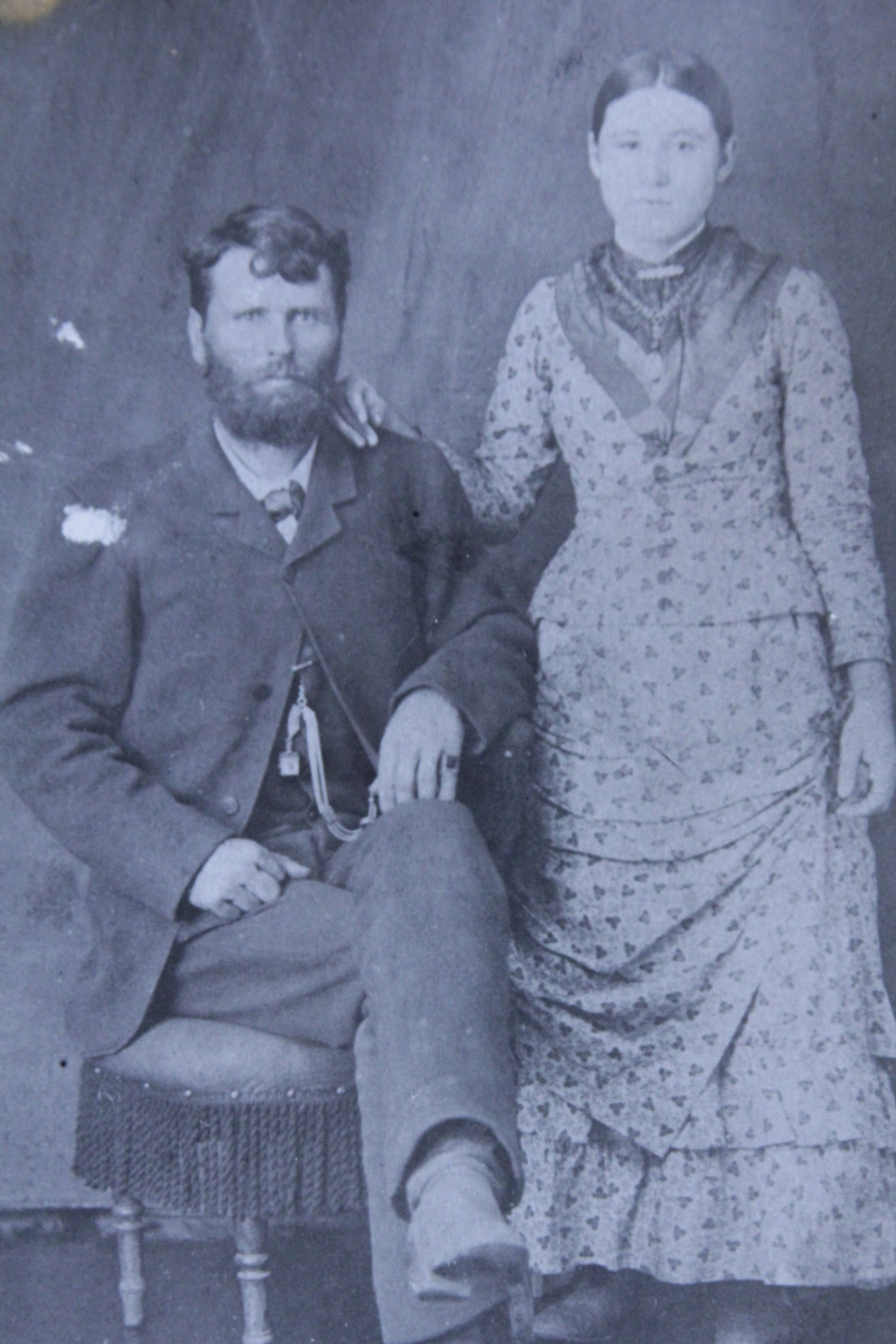 Doc Middleton & Rene Richardson, 1884