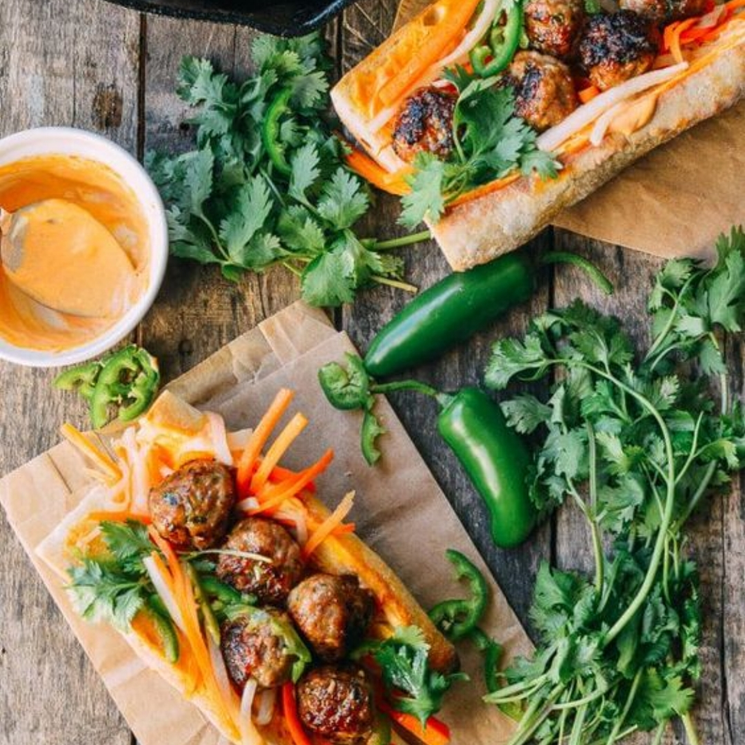 3.Meatball Banh Mi - by The Works of Life